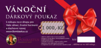 Vánoční poukaz 1 000 Kč