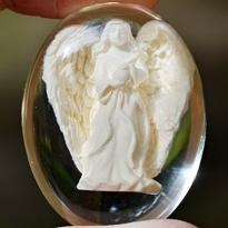 Anděl v kameni - andělské světlo