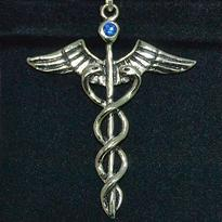 Amulet Caduceus - Hermova hůl