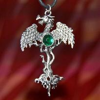 Amulet Strom Života a drak