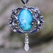 Amulet fantasy exclusive - Světlo jednorožce