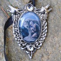Amulet fantasy exclusive - Vlk ochránce