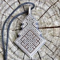 Amulet slovanský - Bohyně Makoš - Matka Štěstí
