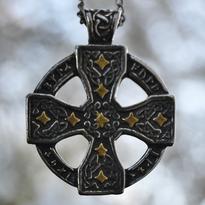 Amulet Runový keltský kříž