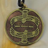 Amulet Staroegyptský sup - duchovní průvodce