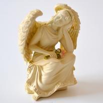 Andělská soška - pohlédni na všechno to dobré