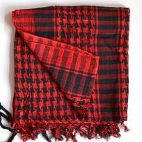 Šátek palestina arafat - červená
