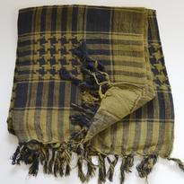 Šátek palestina arafat - khaki