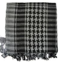 Šátek palestina arafat - šedá tmavá