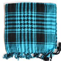Šátek palestina arafat - tyrkysová