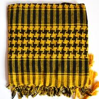 Šátek palestina arafat - žlutá