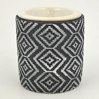 Aromalampa Kosočtverce, keramika