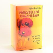 XL Bylinný čaj na překyselení organismu, 20 sáčků