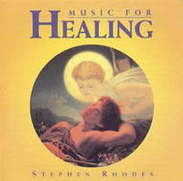 CD - Léčení hudbou - Stephen Rhodes