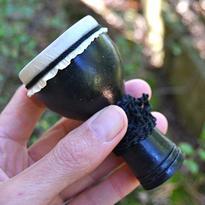 Chřestidlo Shaker bubínek Bali 8 cm