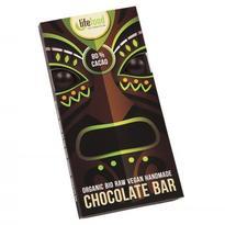 Lifefood raw čokoláda 80% kakao BIO 70 g