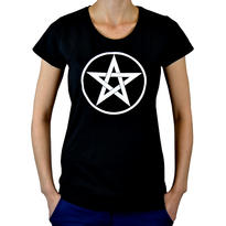 Dámské tričko Symbol - Pentagram M