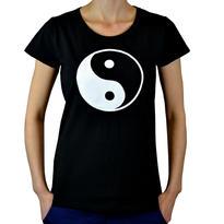 Dámské tričko Symbol - Jin Jang M