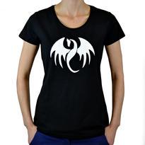 Dámské tričko Symbol - Drak M