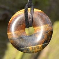 Donut kulatý 30 mm - tygří oko
