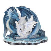 Socha fantasy exclusive - Matka drak s mládětem