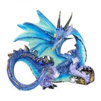 Fantasy soška - Drak, strážce pokladu