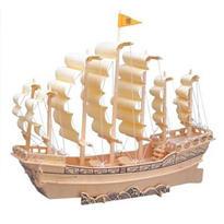 Galeona - 3D dřevěné puzzle