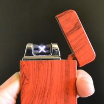 Elektrický zapalovač MATRIX USB - červený