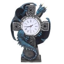 Hodiny fantasy - Drak s keltským křížem