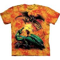 Fantasy tričko - Jezdci na dracích duel S