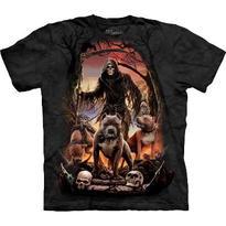 Fantasy tričko - Smrtka a tři bestie - DOPRODEJ S