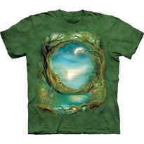 Fantasy tričko - Měsíc ve stromech S