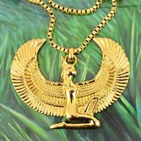 Faraonský náhrdelník - Bohyně Isis