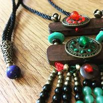 Šamanský náhrdelník IINII - Ixpan