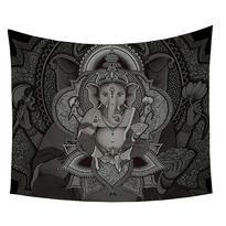 Šátek - přehoz Ganesha šedý