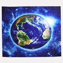 Šátek - přehoz Modrá planeta