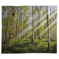Šátek - přehoz Březový les