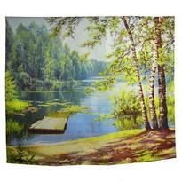 Šátek - přehoz Léto na jezeře