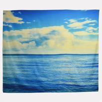 Šátek - přehoz Moře