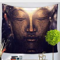 Šátek - přehoz Zlatý Buddha