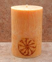 Svíčka Starohebrejský amulet 7,6 x 15 cm