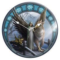 Nástěnné skleněné hodiny fantasy - 3 království