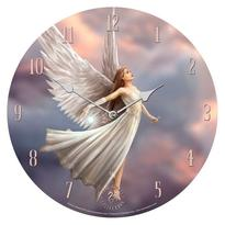 Nástěnné hodiny fantasy - Víla nebes