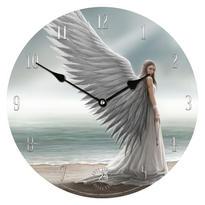 Nástěnné hodiny fantasy - Anděl strážný