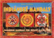 Indiánské mandaly k vybarvení