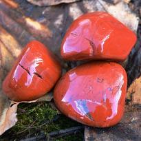 Jaspis červený tamblovaný, mix XL
