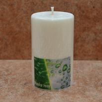 Svíčka Kapka rosy malá 6 x 10 cm
