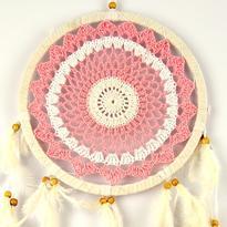 Lapač snů - Růžová mandala