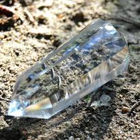 Broušená krystalová hůlka - Křišťál extra 83 g