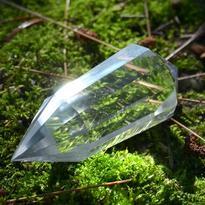 Broušená krystalová hůlka - Křišťál extra 54 g
